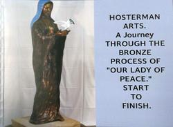 Our Lady of Peace - The process of creating this commissioned bronze sculpture